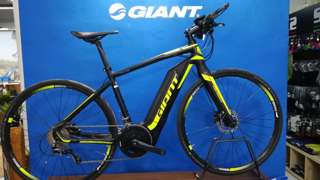 occasione ebike giant fastroad E+ demo bike