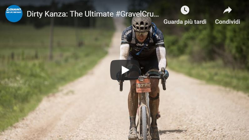 dirty kanza giant revolt gravel bike