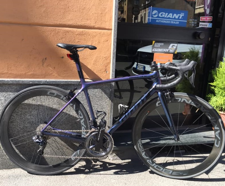 giant tcr advanced sl 2019 torino