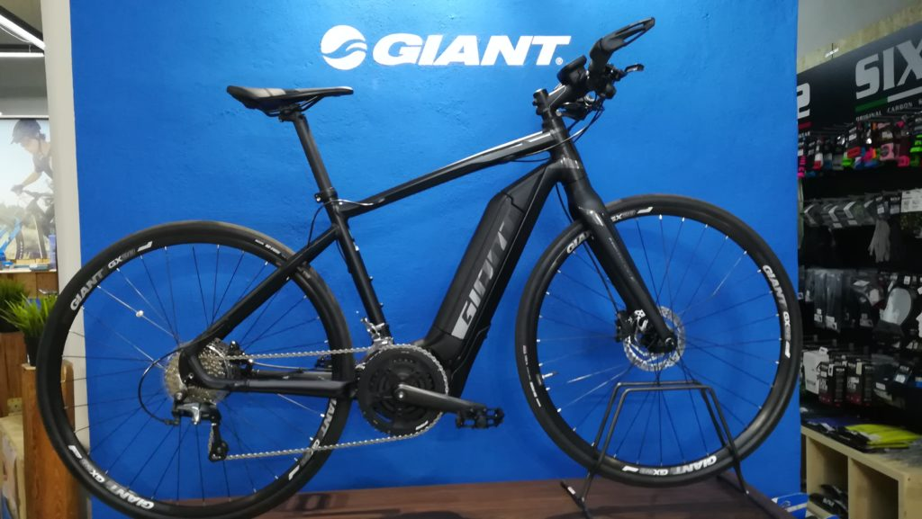 occasione ebike giant fast road demo bike